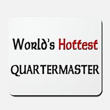 World's Hottest Quartermaster Mousepad