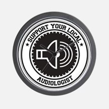 Support Audiologist Wall Clock
