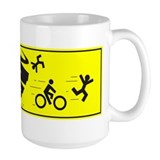 Bicycling mugs Large Mugs (15 oz)