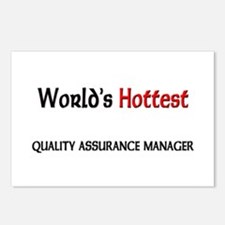 World's Hottest Quality Assurance Manager Postcard