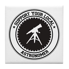 Support Astronomer Tile Coaster