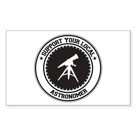 Support Astronomer Rectangle Sticker 50 pk)