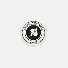 Support Artist Mini Button