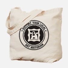 Support Art Historian Tote Bag