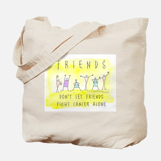 Cancer Friends Tote Bag