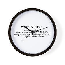Wet Nurse Wall Clock