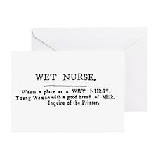 Wet Nurse Greeting Cards (Pk of 10)