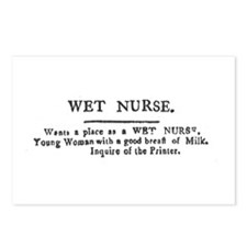 Wet Nurse Postcards (Package of 8)