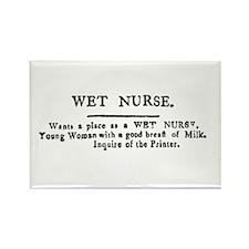 Wet Nurse Rectangle Magnet