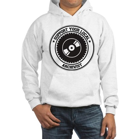 Support Archivist Hooded Sweatshirt