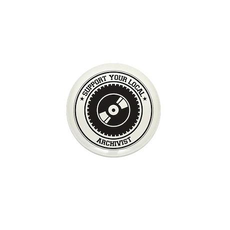 Support Archivist Mini Button (10 pack)