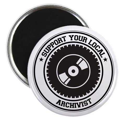 "Support Archivist 2.25"" Magnet (100 pack)"