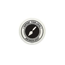 Support Archaeologist Mini Button (10 pack)