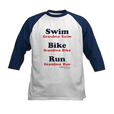 Triathlon Grandma Tee