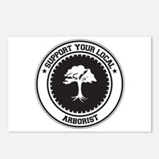 Support Arborist Postcards (Package of 8)
