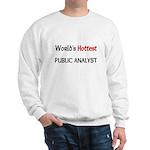 World's Hottest Public Analyst Sweatshirt
