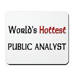 World's Hottest Public Analyst Mousepad
