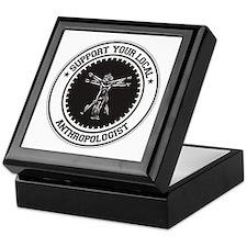 Support Anthropologist Keepsake Box