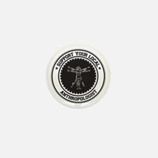 Support Anthropologist Mini Button