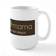 Adoption Mama Brown/Green Log Mug