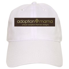 Adoption Mama Brown/Green Log Baseball Cap