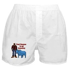 Paul Bunyan is My Homeboy Boxer Shorts