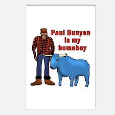 Paul Bunyan is My Homeboy Postcards (Package of 8)