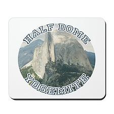 Half Dome Round Mousepad