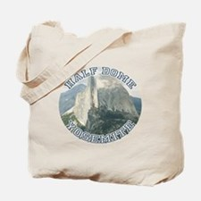 Half Dome Round Tote Bag