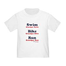 Triathlon Grandpa T