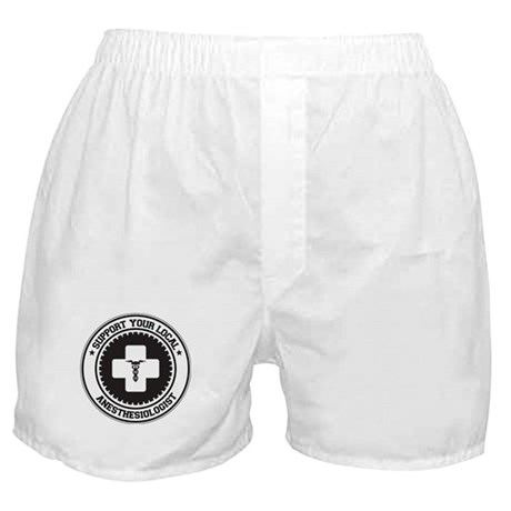 Support Anesthesiologist Boxer Shorts