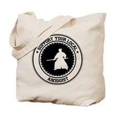 Support Aikidoist Tote Bag