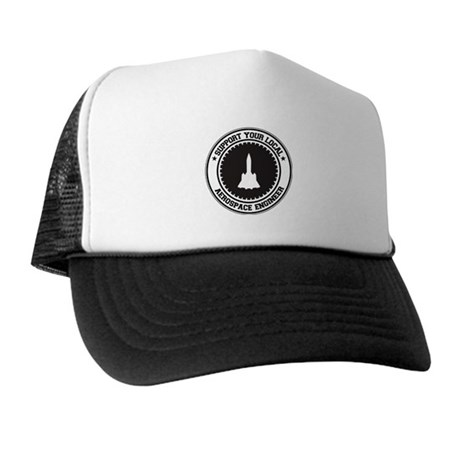 Support Aerospace Engineer Trucker Hat