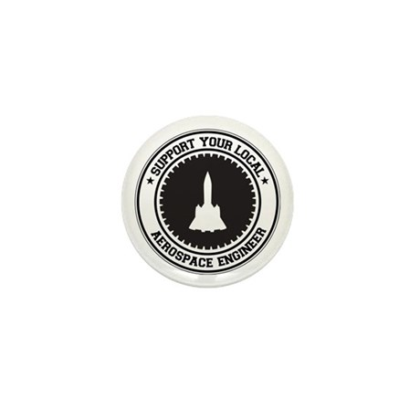 Support Aerospace Engineer Mini Button (10 pack)