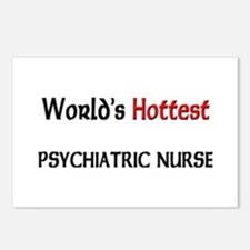 World's Hottest Psychiatric Nurse Postcards (Packa