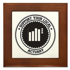 Support Actuary Framed Tile