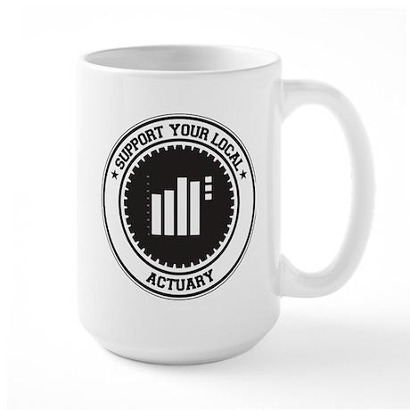 Support Actuary Large Mug