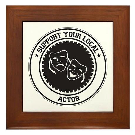Support Actor Framed Tile