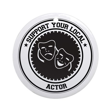 Support Actor Ornament (Round)