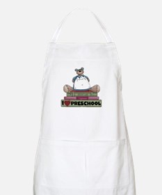 Bear and Books Preschool BBQ Apron