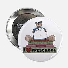 "Bear and Books Preschool 2.25"" Button"