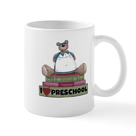 Bear and Books Preschool Mug