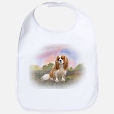 English Toy Spaniel portrait Bib