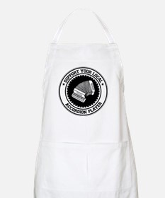 Support Accordion Player BBQ Apron