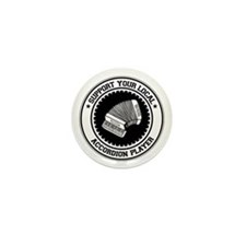 Support Accordion Player Mini Button