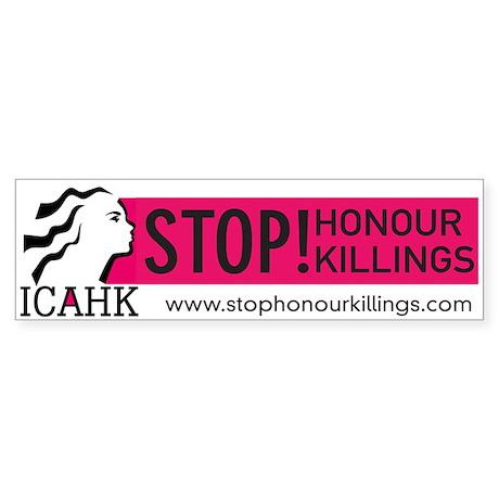 ICAHK Bumper Sticker