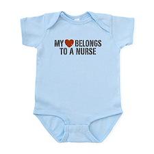 My Heart Belongs to a Nurse Onesie