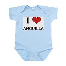 I Love Anguilla Infant Creeper
