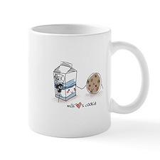 Milk Hearts Cookie Mug