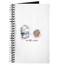Milk Hearts Cookie Journal